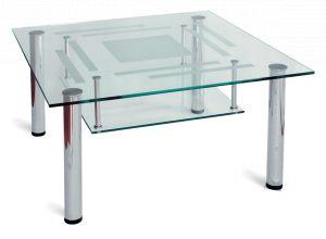 Журнальный столик хром Робер-8МП