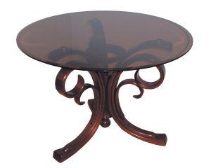 Журнальный столик темно-коричневый Барон