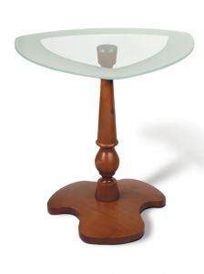 Журнальный столик темно коричневый Рио-4