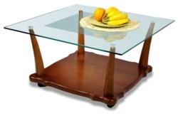 Журнальный столик  Квартет 5М среднекоричневый