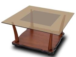 Журнальный столик  Квартет 5М темнокоричневый