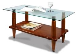 Журнальный столик  Квартет 9М среднекоричневый