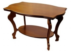 Журнальный столик Берже 1 среднекоричневый