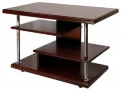 Журнальный столик Комфорт-3 среднекоричневый