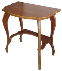 Журнальный столик Консоль Комфорт-8 среднекоричневый